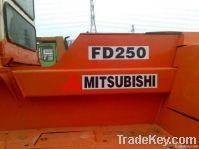 Used Mitsubishi Diesel Forklift, FD250