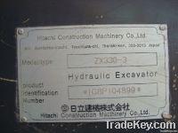 Used Hitachi Crawler Excavator ZX330-3