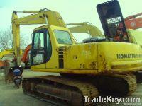 Used Komatsu Excavator PC220-6