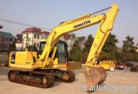 Used Komatsu Excavator PC160