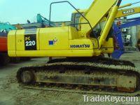 Used Komatsu Crawler Excavator PC220-7