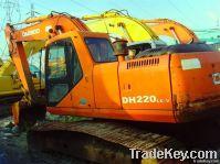 Used Daewoo DH220LC-V Excavator