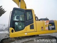 Used Excavator Komatsu PC240-7, Competitive Price