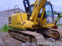Used Komatsu Excavator, Komatsu PC130-7