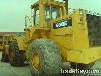 Used CAT966E Wheel Loader