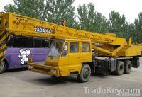 Used Tadano TL250E Truck Crane, Original