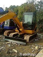 Used Small Caterpillar Excavator, CAT305.5