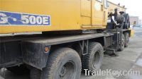 Used TadanoTruck Crane TG500E, Original Japan