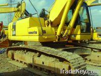 Used Komatsu PC220-7 Excavator, Original Japan
