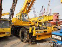 Used Full Hydraulic Rough Terrain Crane