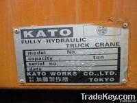 Used KATO NK300E Truck Crane