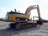 Used Caterpillar CAT345DL Excavator, Original
