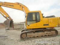 Used Hyundai Crawler Excavator R215-7