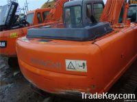 Used Hitachi ZX200 Crawler Excavator, Original Japan