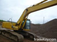 Used Komatsu PC200-6 Excavator, Good Price