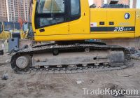 Used Hyundai Excavator R215-7C, Original Korea
