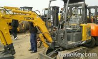 Second hand Mini Excavator Yuchai YC13-6