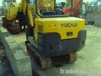 Used Mini Excavator , Yuchai YC13-6