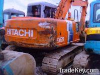 Second hand Hitachi EX120-3 Excavator, Original Japan