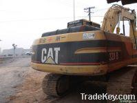 Used Cat Crawler Excavator 320B