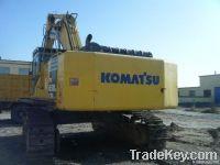 Used Big Crawler Excavator, Komatsu PC650