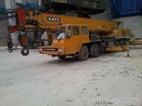Used kato crane (NK300E)