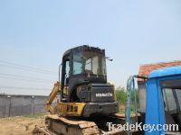 Used Japan Komatsu PC55MR-2 Excavator