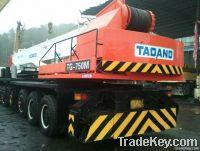 Used Tadano Hydraulic Mobile Crane