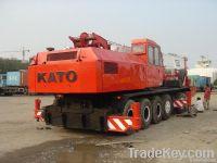 Used KATO Crane NK1200E, 120tons Japan Crane