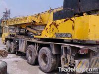 Used genuine Japan Tadano Crane, TG500E
