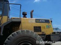 Used Komatsu WA470-3 Loader