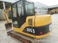 Used CAT mini excavator, used CAT 301, 302, 304, 306, 307, 308 Excavators