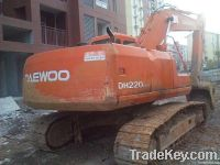 Used Daewoo Excavator DH220LC-V