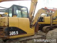 Used CAT Mini Excavator CAT305.5
