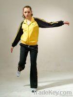 Brand women jogging sportswear, sport tracksuit, bright sportswear