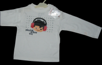 Children's Long Sleeve Round Neck Printed T-shirts