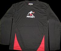 Men's Long Sleeve Crew Neck Printed T-shirts