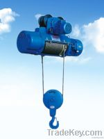 CD1 electric wire rope hoist with normal speed