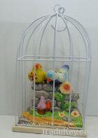 ceramic bird with sound control