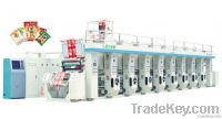High speed compterized register rotogravure printing machine