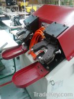 Hydraluic heel seat lasting machine for stitch-down shoes (back part)