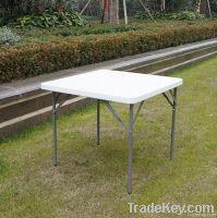 white Plastic leisure square folding mahjong table