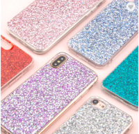 Luxury Crystal Shining Glitter Mobile Phone Casing