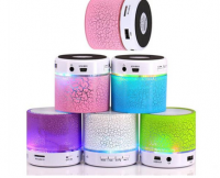 Mini led light smart wireless Bluetooth Speakers