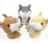 Talking Hamster animal repeat Pet Talking Plush Toy Novelty Christmas