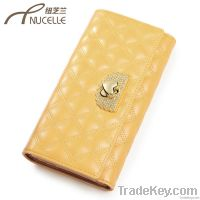 2013 Fashion women wallet genuine Leather Purses women's wallets Coin