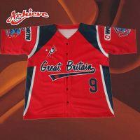 Free Design Polyester Sublimation Baseball Jersey