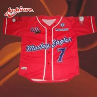 New design Red baseball uniform with full sublimation printing