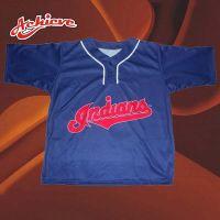 100%polyester customized baseball jersey