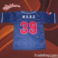 Sublimation baseball uniform with high quality